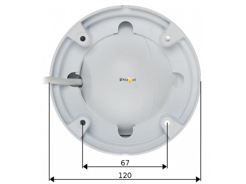 EL-IP C500 - Kamery kopułkowe IP