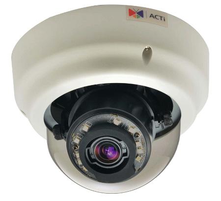 ACTi B67 - Kamery kopułkowe IP
