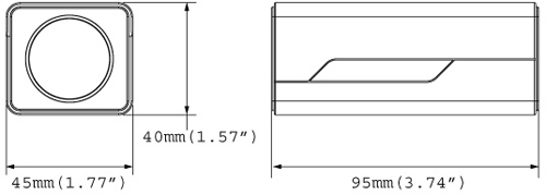GV-UBX2301-1F Mpix - Kamery kompaktowe IP