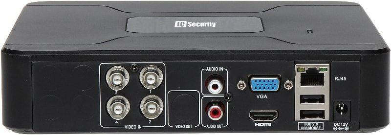 LC-4000-AHD v1 /LC-400 - Rejestrator 4-kanałowy - Rejestratory 4-kanałowe