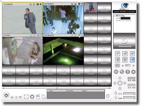 D-Link DCS-6110 - Kamery kopułkowe IP